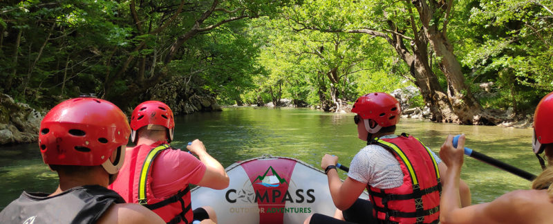 Rafting in Epirus
