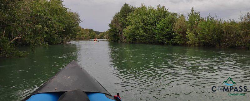Kayak, Monoraft
