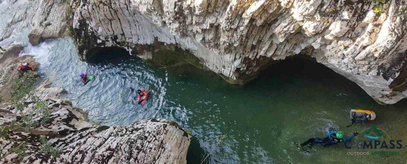 River Trekking, Compass Outdoor Adventures